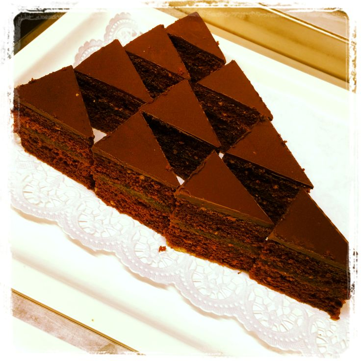 Sacher cake - All you can eat and drink at Trofea Grill Restaurant Kiraly Street
