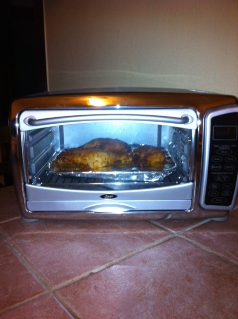 Countertop Convection Oven Chicken Recipes : Chicken in the Toaster Oven! Whoda thunk these things would cook so ...