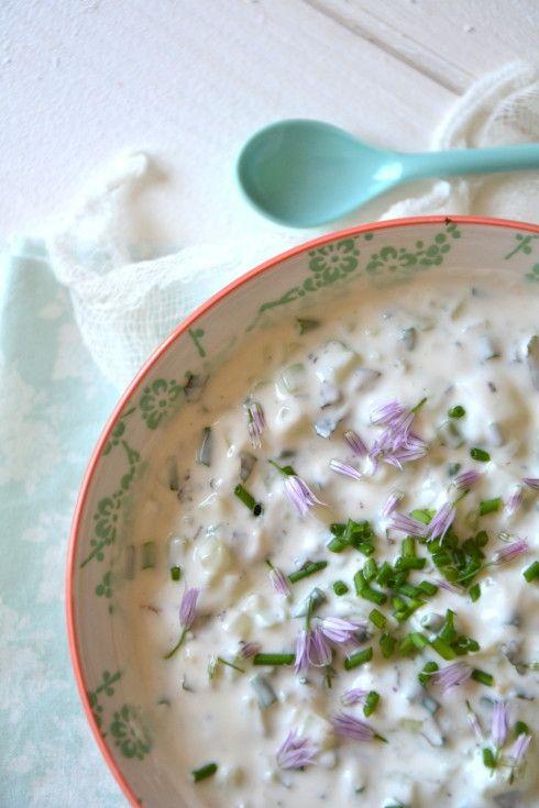 Raïta de concombre http://www.lesrecettesdejuliette.fr