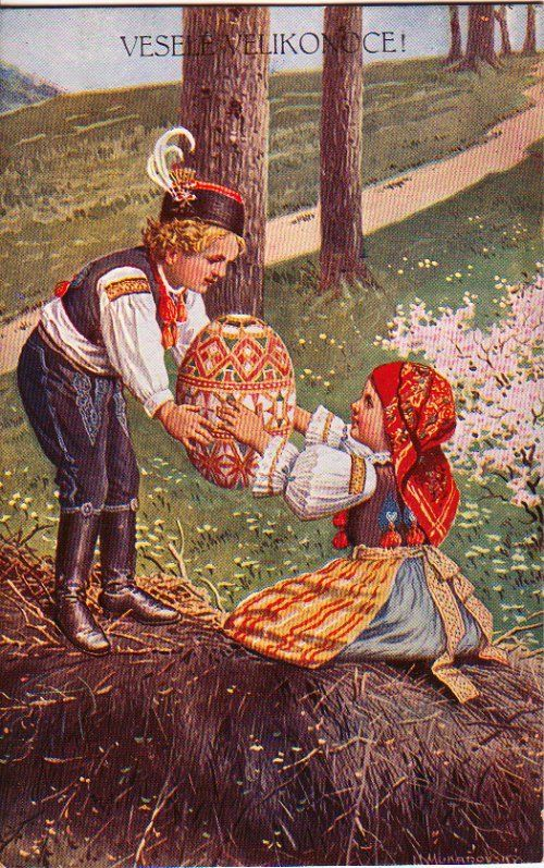 .Russian Easter Greeting