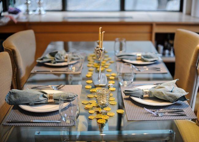 Host a Hanukkah Dinner Party - Fashionable Hostess | Fashionable Hostess
