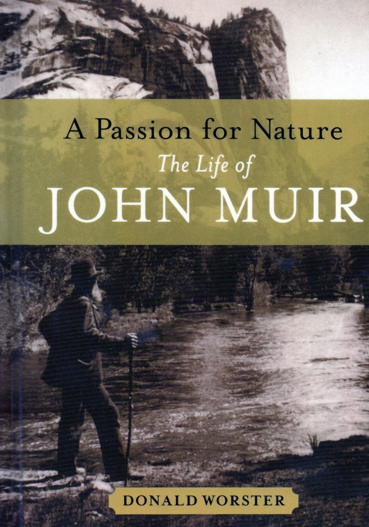 A Passion For Nature: The Life of John Muir by Donald Worster http://heavywhalley.files.wordpress.com/2011/11/jmt-book.jpg