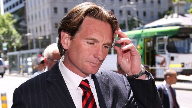 James Hird's health: Enough is enough, ok?