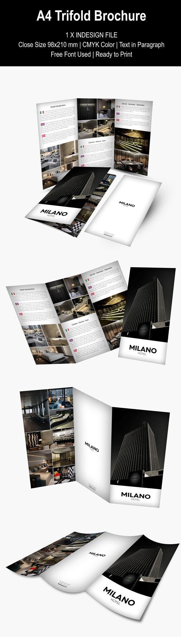 A4 TRIFOLD BROCHURE  This item is available for sale on Envato MarketPlace http://graphicriver.net/item/a4-trifold-brochure/9377018?WT.ac=portfolio&WT.z_author=Webnovo