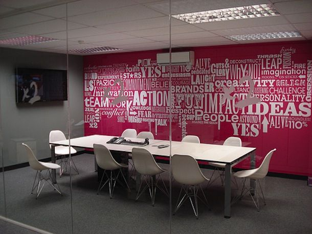 Bringing a conference room to life with colour