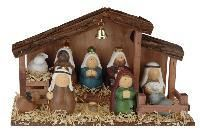 Weihnachtskrippe mit Figuren - DKB_24.eu
