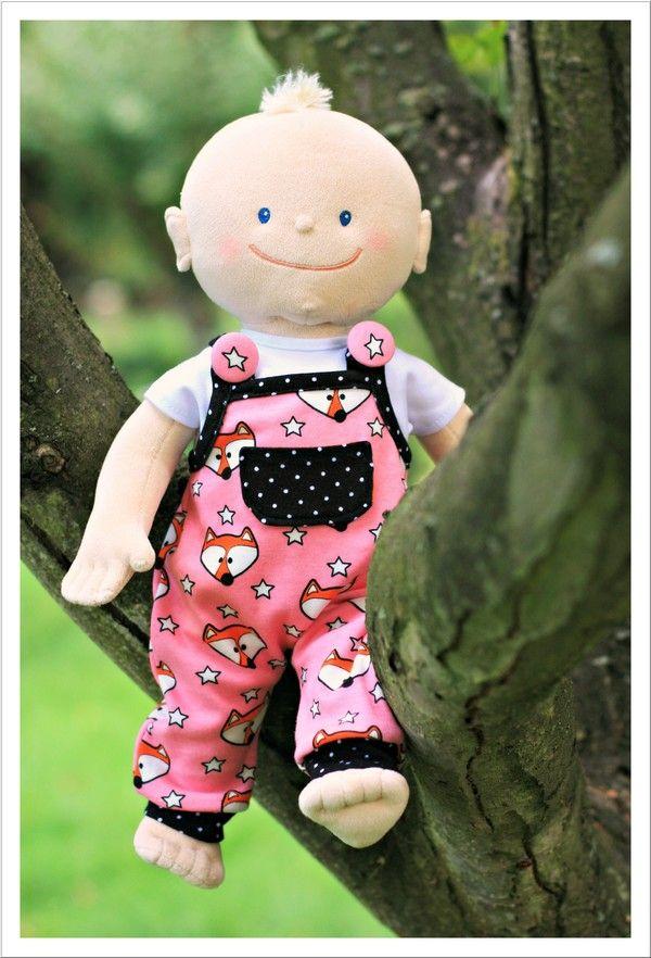Mit Nadel und Faden: Puppenlöwenzahn - ein tolles Freebook