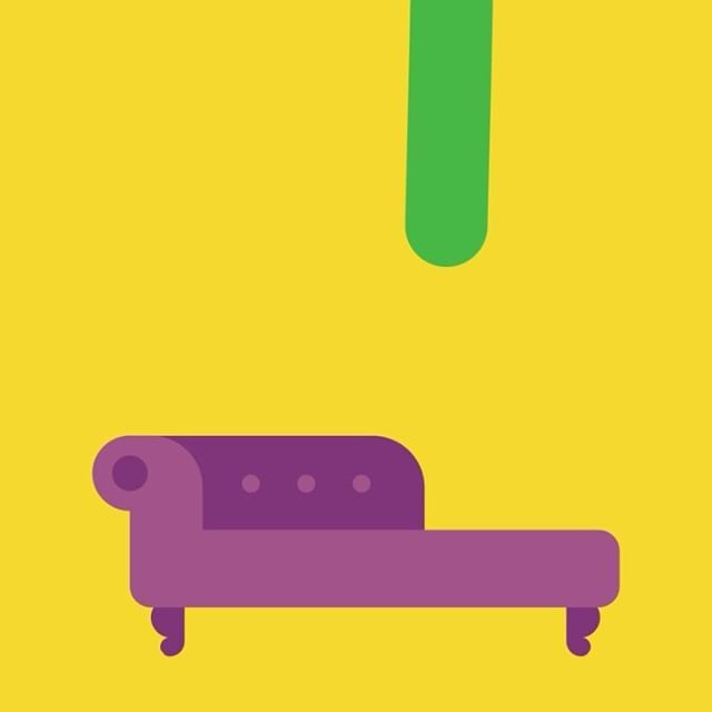 1/5 Guess The Psychologist! #couch #unconscious #thought #animation #motiongraphics #gif #sausage #quiz #psychologist