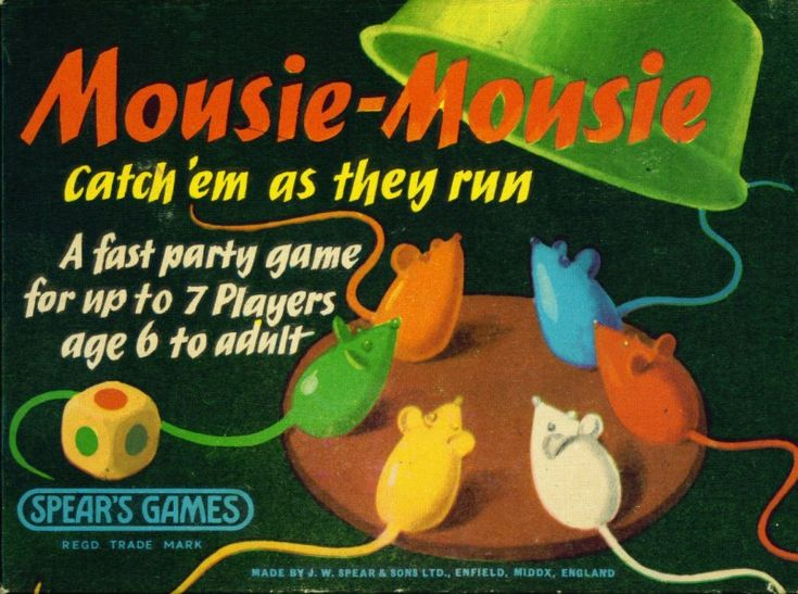 Mousie Mousie, got a bit rough with this game and ended up pulling tail off the mouse