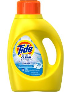 Go here to print>>  $1.00/1 Tide Simply Clean & Fresh Detergent…