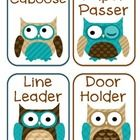 I received a few emails asking if I can make some owl themed classroom jobs cards. Thanks for the suggestions :-)There are 51 jobs in the documen...