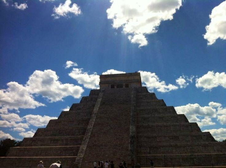 Chichén Itza/Yucatán, México