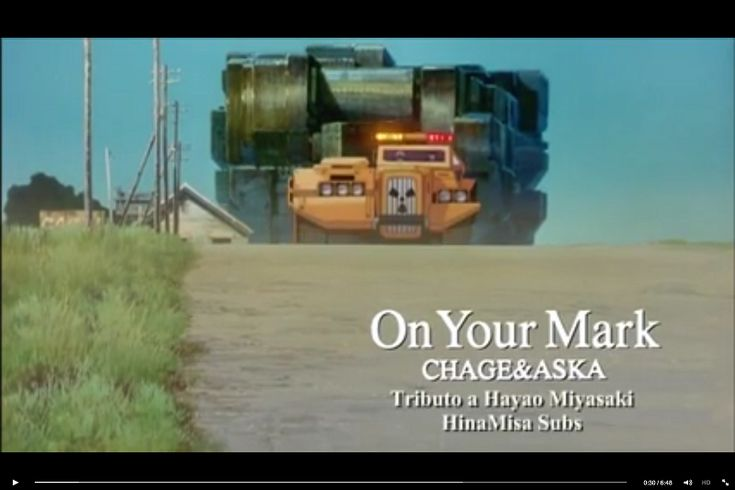 "Studio Ghibli music video for Chage & Aska's ""On YourMark""?"