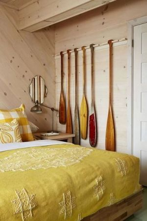 STYLISH HOMES: Sarah's Rental Cottage, Canada AFTER PHOTOS Sarahs Rental Cottage in Georgian Bay Canada - store room later guest room.JPG