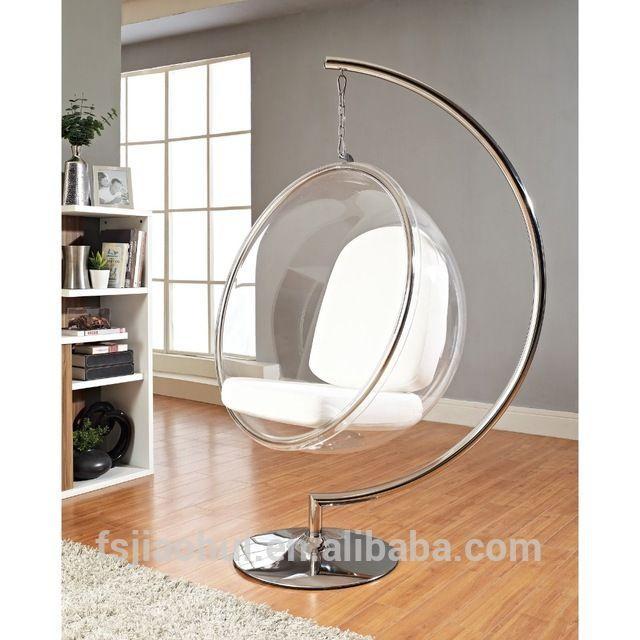 JH-200 Klassieke Koffie Winkel Acryl Clear Opknoping Bubble Stoel met Stand-inwoonkamer stoelen van woonkamer meubels op m.dutch.alibaba.com.