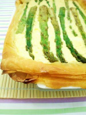 Torta Crocante de Aspargos e Batata   Figos & Funghis