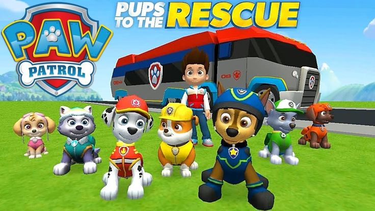 Paw Patrol Pups to the Rescue (by Nickelodeon) - iOS / Android - Full Ga...