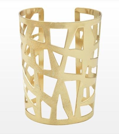 Cutting Edge! This cut out bracelet is perfect for achieving a rocker chic look!