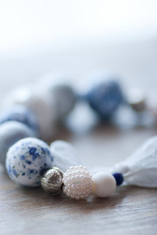 wrapped/painted beads