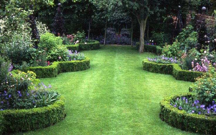 106 best formal garden design images on pinterest