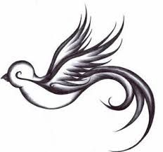 take these broken wings and learn to fly tattoo -