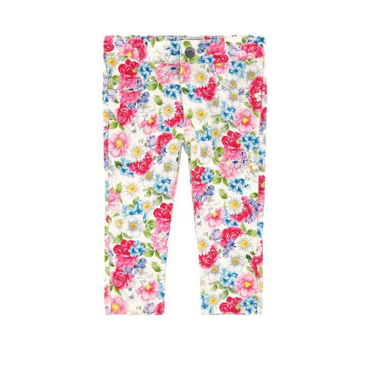 Mayoral / Pants / Girl slim fit printed treggings