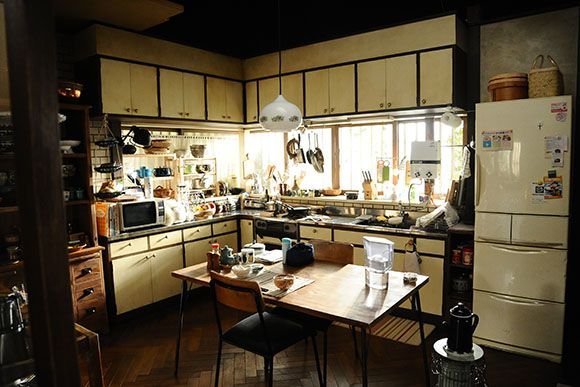 enormous Japanese kitchen