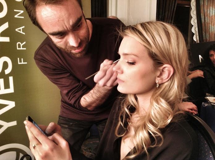 #makeup #yvesrocher #fashion #mango #backstage #fashionmodel #victoriassecret
