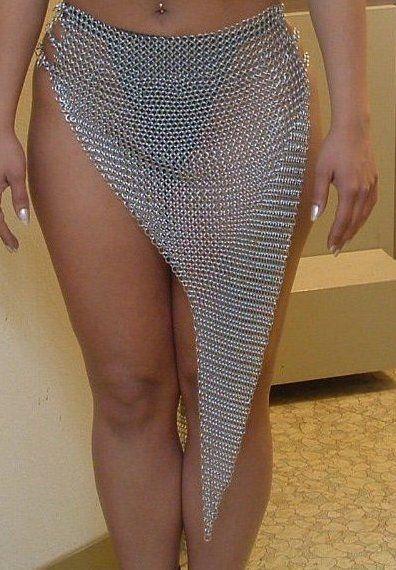 Chainmail Skirt 03 by Sparhawk718.deviantart.com on @deviantART