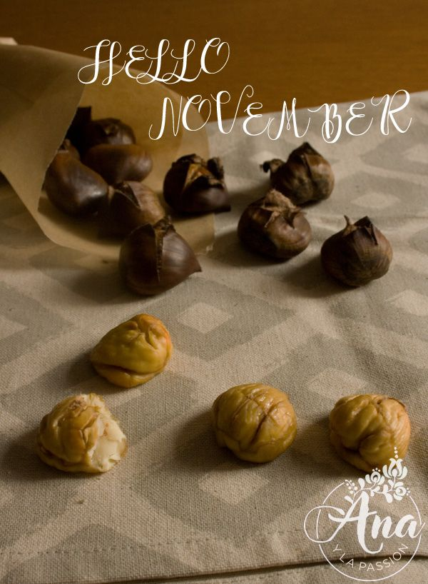 roasted chestnuts by Ana y la passion
