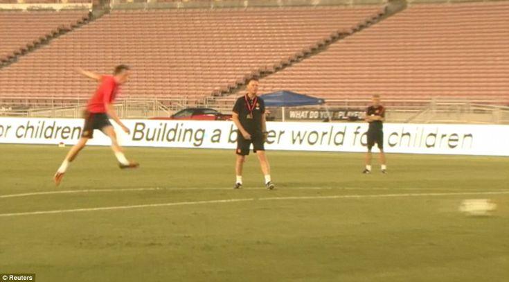 Aren't you a defender? Van Gaal was impressed when Phil Jones's left-footed strike showed ...