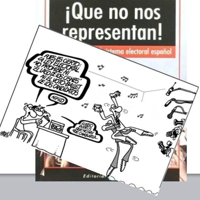 """Hoy hablamos del funcionamiento del sistema electoral español y la Ley D'Hont. No te lo pierdas. En: Fahrenheit (10/05/2016)(http://uniradio.ujaen.es/programas/campus-vita-est/podcast (min. 18'30'') y en la Biblioteca: el libro """"Que no nos representan, de Pablo Iglesias Turión"""" (avalos.ujaen.es/record=b17700814 ) y Peñas, I.L. y Peñas, S.L. 2000, """"El sistema electoral español: una cuantificación de sus efectos"""" (https://dialnet.unirioja.es/servlet/articulo?codigo=27590)"""