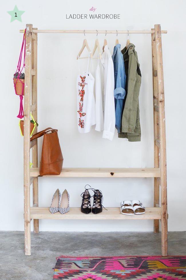 Armarios al aire. Organizar la ropa y accesorios en tu casa
