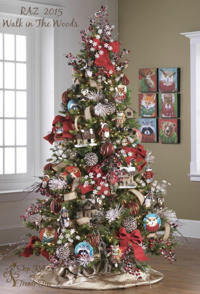 2015 RAZ Christmas Trees | Christmas tree, Decoration and ...