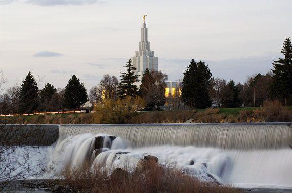 Idaho Falls Idaho Temple by AltusPhotoDesign on Etsy, $15.00,