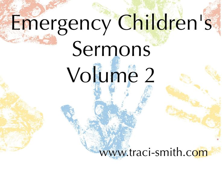 I think children's messages are best when they are very, very simple. Rather than a sermon or an object lesson, I think it's a great moment for children to connect with their pastor or children's l...