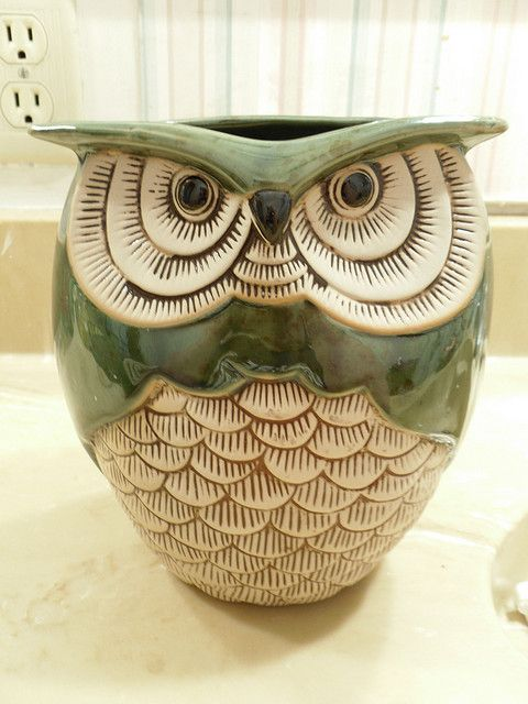 Owl Pots by behindthecanon