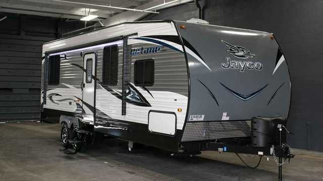 Fantastic I Have A 2004 Jayco Talon ZX 5th Wheel Toy Hauler I Was Cleaning Out The Trailer After Camping And I Seen That The Floor In The Back Side By The Ramp Door Was Soft So I Pulled Up The Flooring And Seen The Floor Was Wet And Rotting Out I Thing