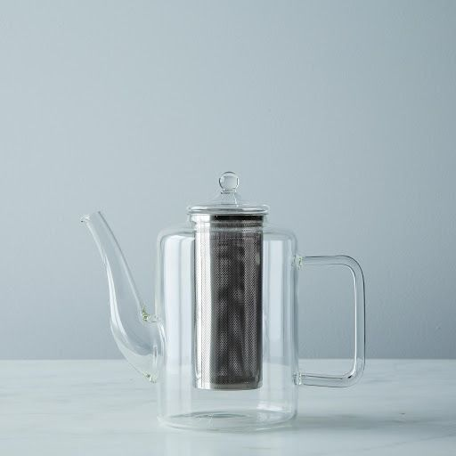 Summer Glass Teapot with Iron Filter // Provisions by Food52 // $65