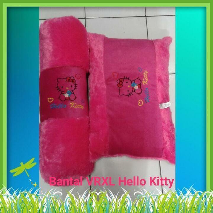 Bantal Guling Baby Hello Kitty Uk guling 70cm Ukrn Bantal 60x40cm  Harga 85rb  Wa/ call 081387149713  #bonekalucuna  #bantalguling #bantalbayi #gulingbayi #gulingbaby
