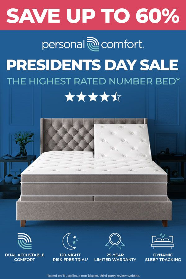 Presidents Day Sale In 2020 Sleep Number Bed Bed Price Comfort Mattress