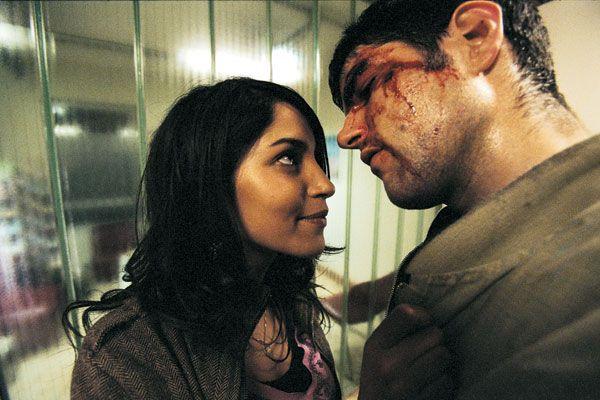 Olivier Barthelemy con Leïla Bekhti