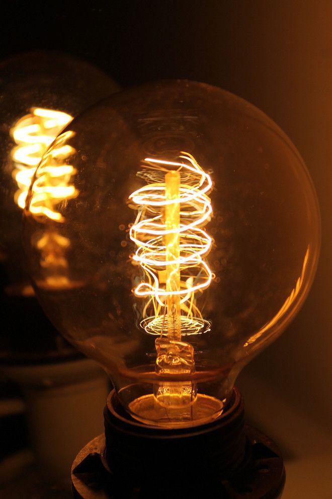 Edison globe light bulb Loop Filment