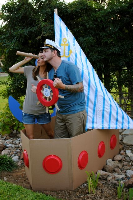 Sailor/nautical Birthday Party Ideas | Photo 19 of 53 | Catch My Party