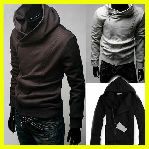 HOT Men Male Top Designed Slim Fit Sexy Hoody Jacket Coat Outwear Boy 4 Colors   eBay #mensapparel