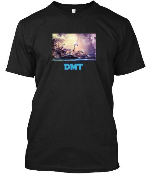 Dmt Black T-Shirt Front