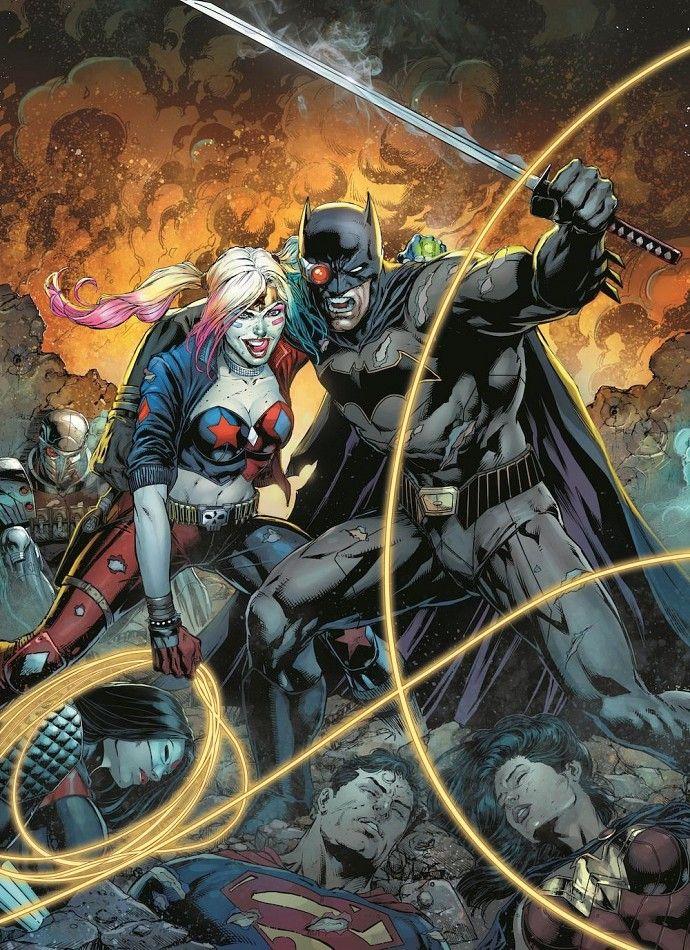 Batman vs Harley Quinn in Justice League vs Suicide Squad DC Comics Announces Justice League vs. Suicide Squad Miniseries