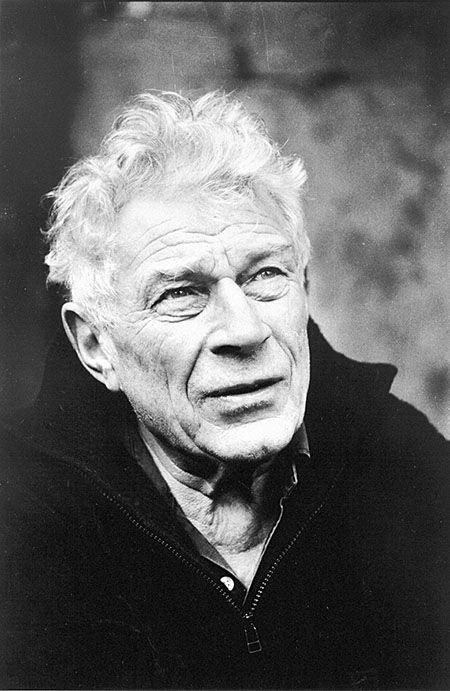 John Berger (1926) - English art critic, novelist, painter and poet. Photo by Jean Mohr