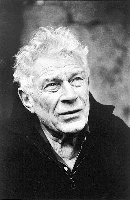 John Berger (1926) - English art critic, novelist, painter and poet. Photo by Jean Mohr