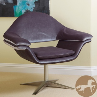 Christopher Knight Home Modern Grey Fabric Chair